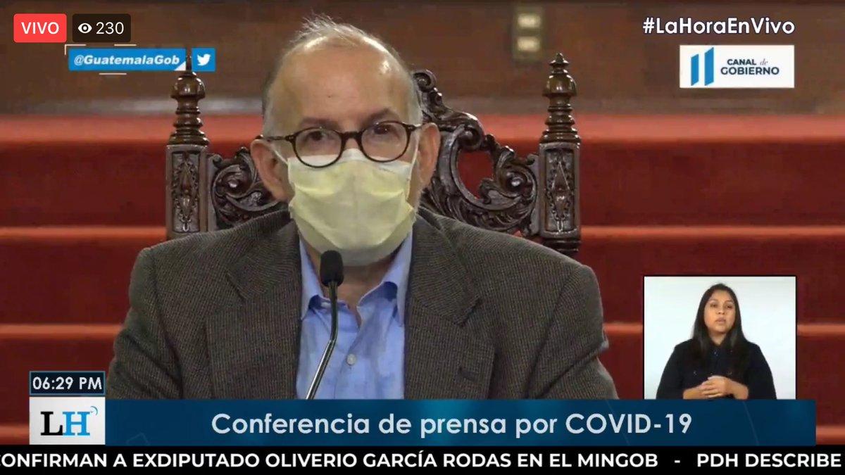 test Twitter Media - El doctor Edwin Asturias dice que de cada 5 personas a las que se le hace la prueba, 1 sale positiva. https://t.co/0PCmuoczcL