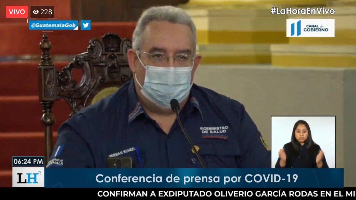 test Twitter Media - El viceministro Scheel dice que en el San Juan de Dios y Roosevelt ya no hay camas disponibles para atender a pacientes por COVID-19, por lo que hoy se reunieron con autoridades del Ejército para trasladar a pacientes al Centro Médico Militar. https://t.co/0mfYKelAA2