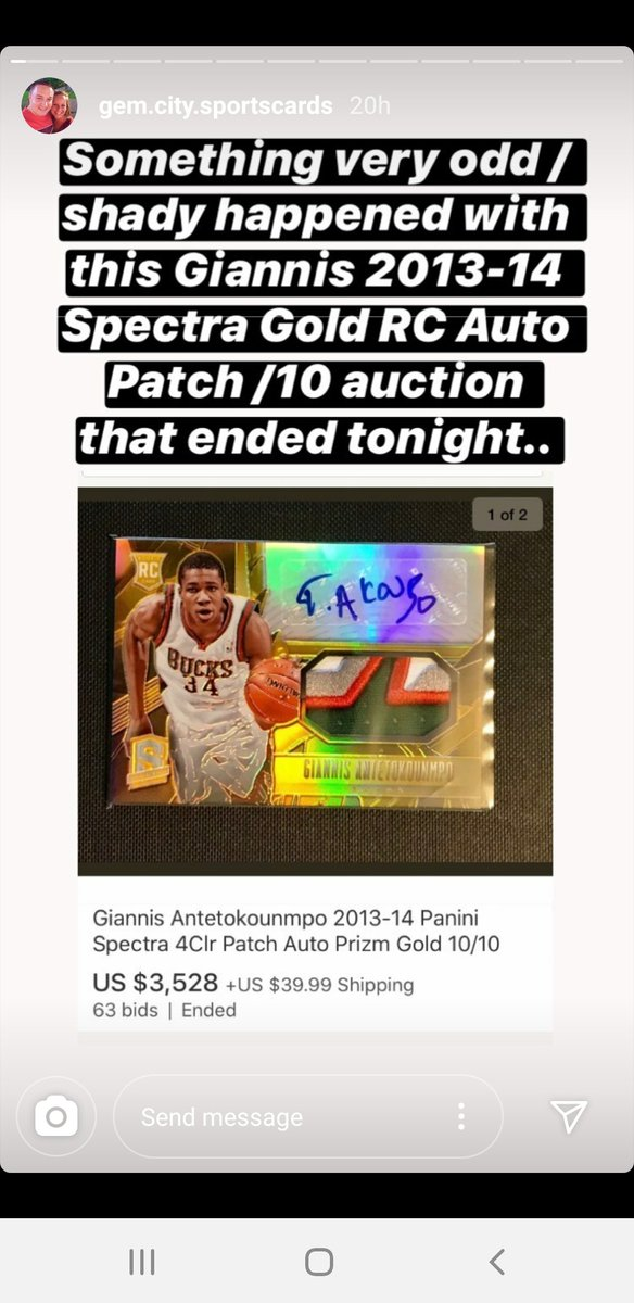 Anthony On Twitter Ebay Bid Retraction Scam Please Please Please Share People Are Getting Burned If You Re Running Auctions Please Make Sure You Re Watching Your Bidding Activity Courtesy Of Https T Co Qcdxrfxeiu Sportscards On