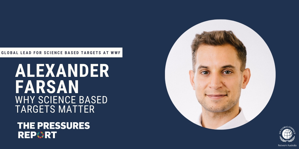Tune in to #ThePressuresReport next week as @FarsanAlexander, Global Lead for Science Based Targets at @WWF, discusses the importance of #ScienceBasedTargets with our Head of Programmes, @Corinne_Schoch. Subscribe Now: https://t.co/KvZ2G7PlWj https://t.co/ZiSaHSpUWl