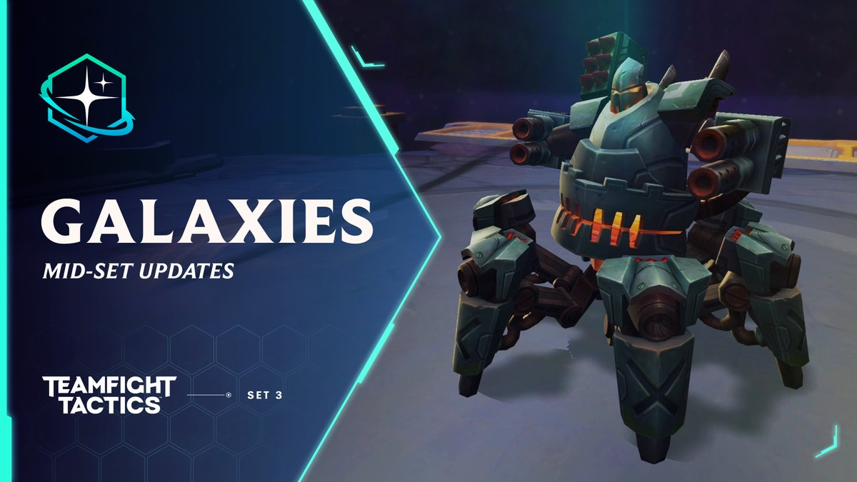 🌌🚀TANAs back with everything you need to know about what's new in TFT Galaxies: Return to the Stars!🚀🌌