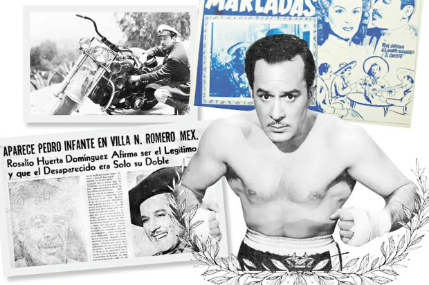 """En mayo de 1974, en San Pedro, municipio de Nicolás Romero, Estado de México, un tal Rosalio Huerta Domínguez dijo que él era el verdadero Pedro Infante, y se desató una historia llena de dimes y diretes. Esta es la crónica de esa """"aparición"""" → bit.ly/2Mv229Z"""