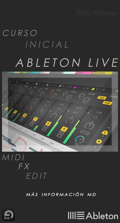 Clases de Ableton Live  Conocimiento general y funciones del daw Edición de audio & midi Clases online vía Google Meet  + Info MDpic.twitter.com/FdIvUycpR5