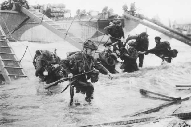 6 June 1944: At 7:35 am, Canadian forces were scheduled to land at #Juno Beach in Normandy, #France during the Allied D-Day invasion of Western Europe. #WWII #WW2 #history #HistoryMatters #DDay #ad https://t.co/Im5ftkwwjA https://t.co/tsrr5wwV1x