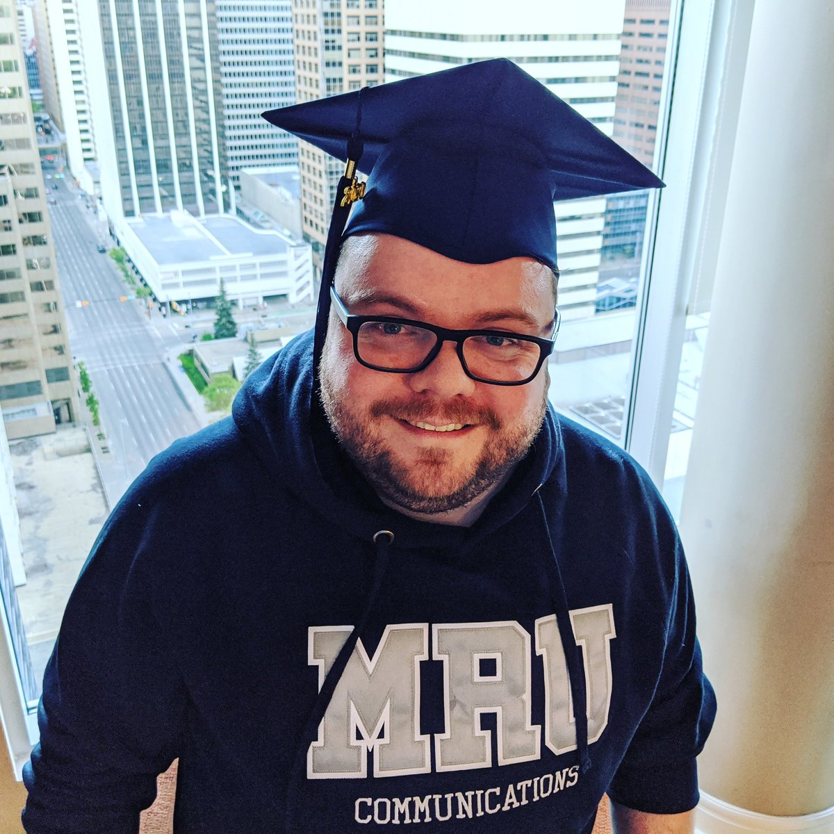 Today I was supposed to walk across the stage and grab that degree I've been working my ass off on these last four years. For obvious reasons, this could not be a reality this year.  WE DID IT, CLASS OF 2020!!  #mrugrad #communications #broadcastmedia #grad2020 @mountroyal4u https://t.co/t76aLIjgh5