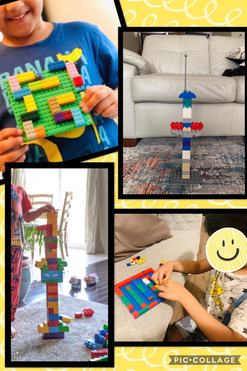 Some of the awesome learning this week in K5 consisted of creating marble mazes and towers!#distancelearning pic.twitter.com/lAGN81BeUT