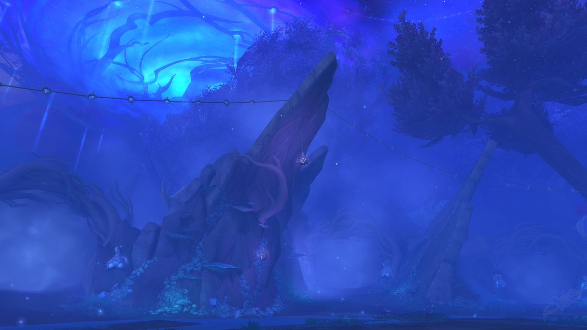 """Wowhead on Twitter: """"Mists of Tirna Scithe: Shadowlands Alpha Dungeon  Preview! Located in Ardenweald, this dungeon has a unique mechanic to it! # Shadowlands #Warcraft https://t.co/mxUjwRVBy8… https://t.co/PrJMi4NlfU"""""""