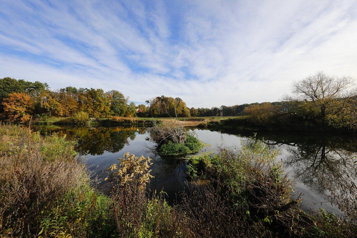 Als #RegionenEntwickler arbeiten wir gemeinsam mit dem #LandNRW daran, dass unsere #Lippe das schönste #Gewässer der Region wird. 💦🙂 In #Datteln-#Ahsen entstand so im Rahmen des Programms #LebendigeLippe eine neue #LippeAue.  Foto: Rupert Oberhäuser/#EGLV https://t.co/pIafwObne0