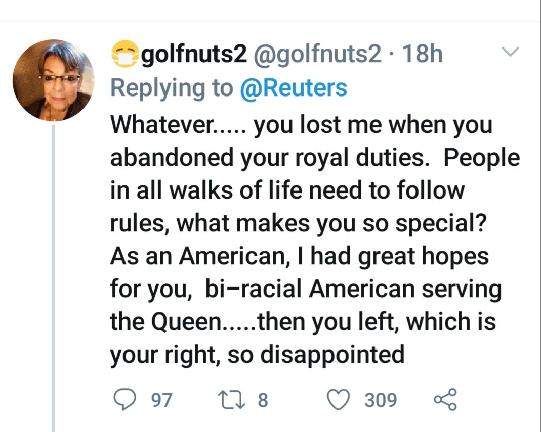 """Hope to have her """"serving"""" the queen.....? pic.twitter.com/qyrfGyLsKx"""