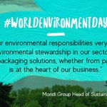 Image for the Tweet beginning: Today marks the World Environment