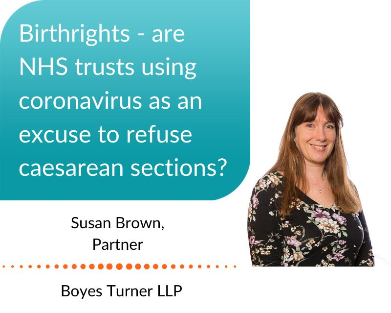 Susan Brown discusses birthrights - are NHS trusts using #Coronavirus as an excuse to refuse caesarean sections?  https://t.co/t1FvoU5PYg  #RefusedaCSection #CSection #CaesareanSection #BirthInjuryLawyers #Birthrights @birthrightsorg https://t.co/lAYpDFofxt