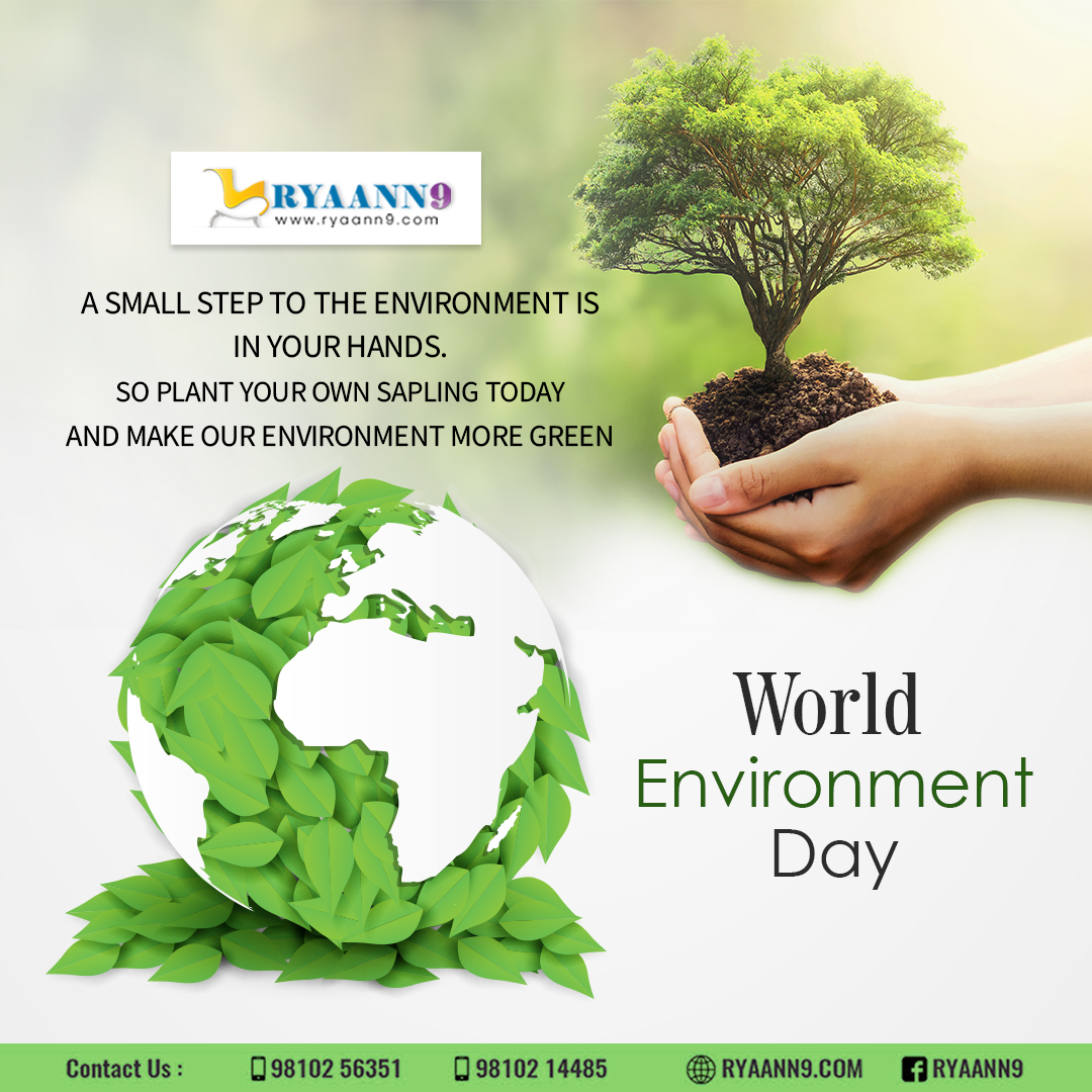 Happy world environment day, do plantation to be free of pollution. #RYAANN9 #MAHLAXMI #OFFICECHAIRS #WORKSTATION For Further information please visit us: http://www.ryaann9.com  CALL US: 9810256351, 9810214485pic.twitter.com/iaWu5abGO5