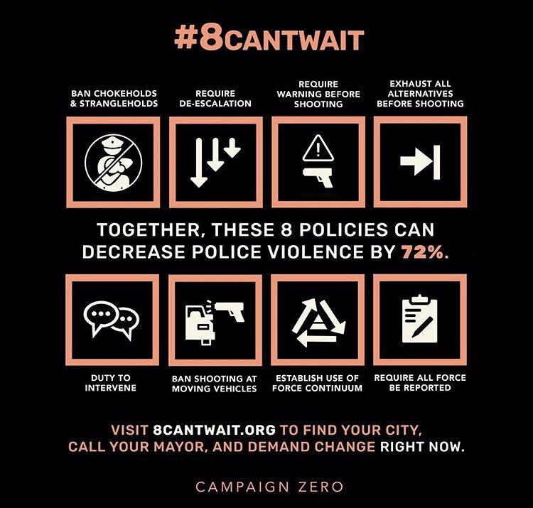 Okay, Ive seen a number of people on social media share this #8cantwait campaign. I wanted to put my thoughts (and those of others) together to explain why this campaign is a bad idea. I want to first start by addressing each of the 8 policies. (Bear with me, thread follows)