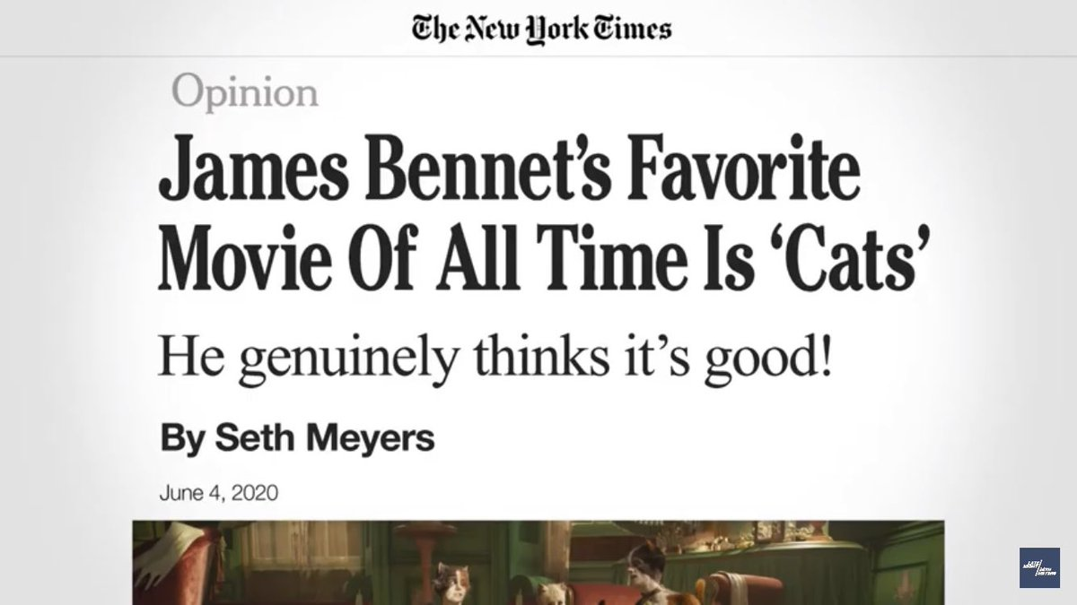 we DARE the new york times opinion page to run our op-ed and allow it to be debated in the marketplace of ideas