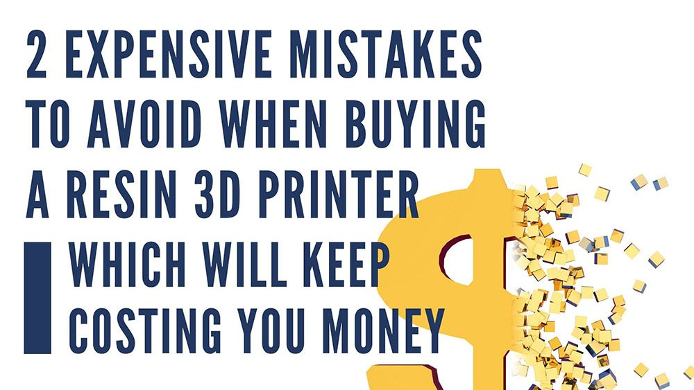 The #1 Most Expensive Mistake people make when buying a #resin3Dprinter is not taking into account the cost of consumables and replacement parts over time when choosing which printer to buy.  Learn more at our latest Case Study: https://lnkd.in/g3JyaYs  #3Dprinters #3Dprintingpic.twitter.com/D5xmdczMKq