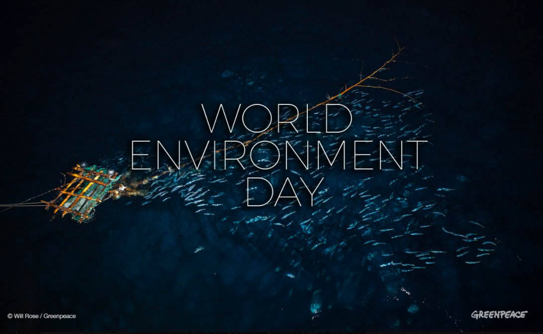 Everyday is a #WorldEnvironmentDay
