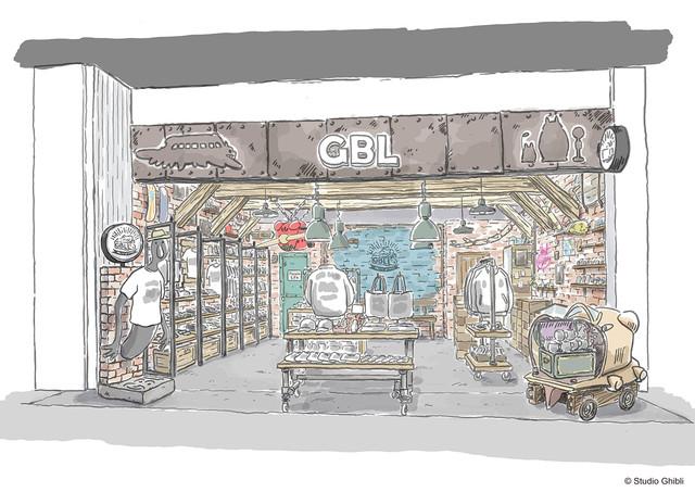 スタジオジブリのアメカジブランドが渋谷に常設店舗オープン、テーマはガレージ #ジブリ