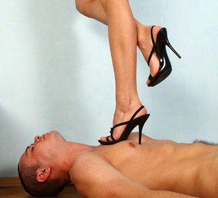 Trampling In High Heels