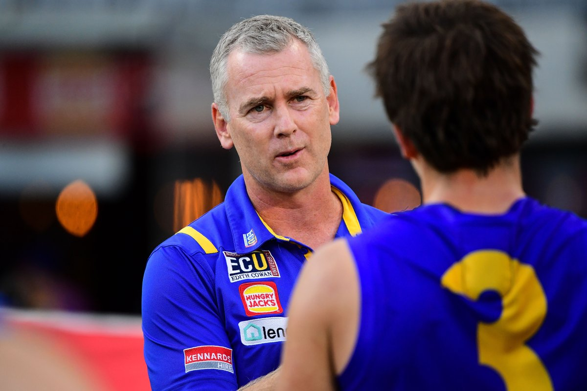 Adam Simpson will chat to the media at 1.00pm AWST.   Stay tuned for tweets! https://t.co/nkrERUSb3l