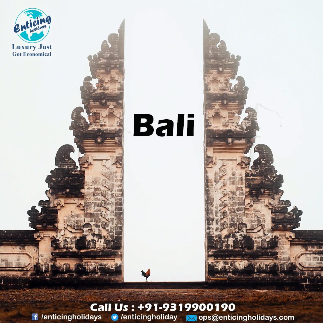 Visit Bali and explore the holistic destinations with your family at a pocket-friendly Bali Tour Packages. Hurry up. Call Enticing Holidays now.  For More Detail Visit: https://bit.ly/369oi2d Coll Us For Booking- +91-9319900190 #balinese #bali #baliindonesia  #balilifepic.twitter.com/X2SYTowbx3