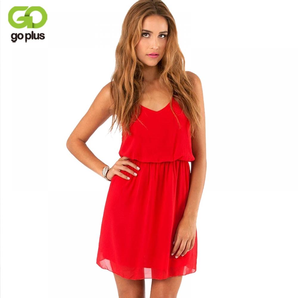 #model #look GOPLUS 2017 Summer Style Chiffon Party Dress Women Casual V neck Beach Dress Sleeveless Red Black Sweet Mini Dresses Plus Size pic.twitter.com/xv5joeqE9D