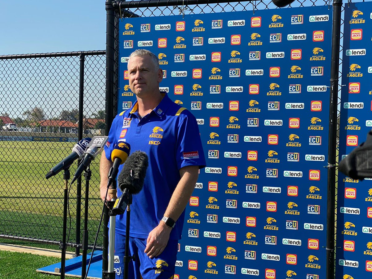 """We've got guys who played round one who were a bit underdone. Hutch is the only senior player I can think of that is unavailable.""  Adam Simpson on list health https://t.co/siFCcUMKD0"