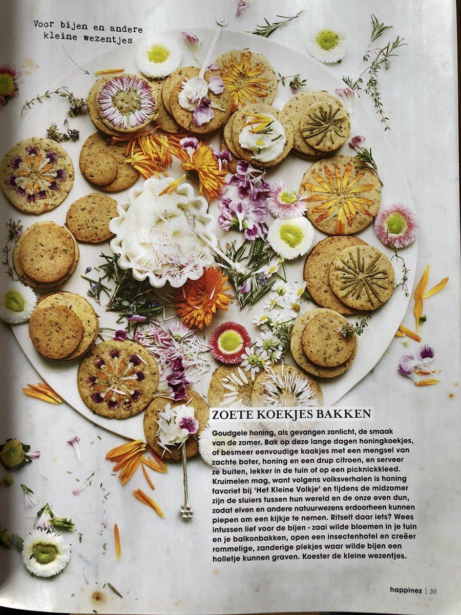 Zoete koekjes bakken voor bijen en andere kleine wezentjes #zomerzonnewende #midzomerfeest #happinezpic.twitter.com/3776wnoNCt