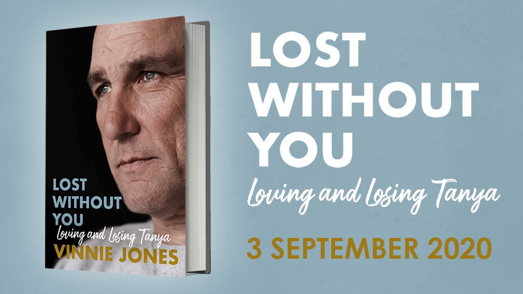 "My new book ""Lost Without You"" is out later this year! It is a memoir written in honour of my wife and soulmate Tanya. I hope that by sharing my experiences of grief and loss I can inspire others to find the help they need also. Preorder:  https://t.co/CIMWV8J3w4 #lostwithoutyou https://t.co/4zK4WrCO1Z"