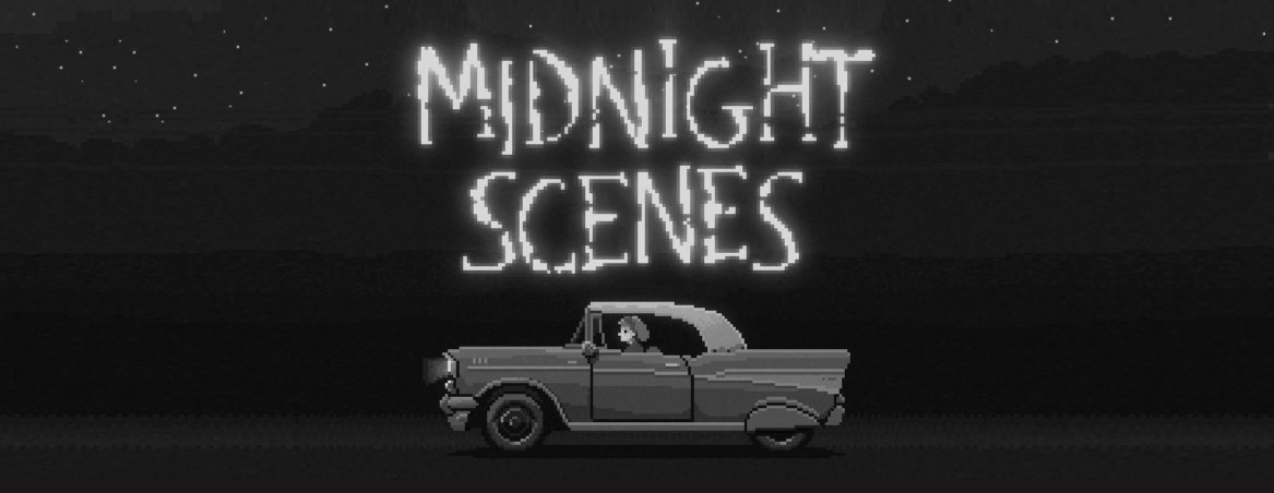 After the huge success of The Supper, I've decided to release my previous 3 games on Steam, starting with Midnight Scenes, coming early next month!  This new edition will include: - Art Book in PDF - OST - Localization to 7 languages!  Wishlist now! :) https://t.co/wxV6gjAsJ4 https://t.co/wFw4KLKEXs