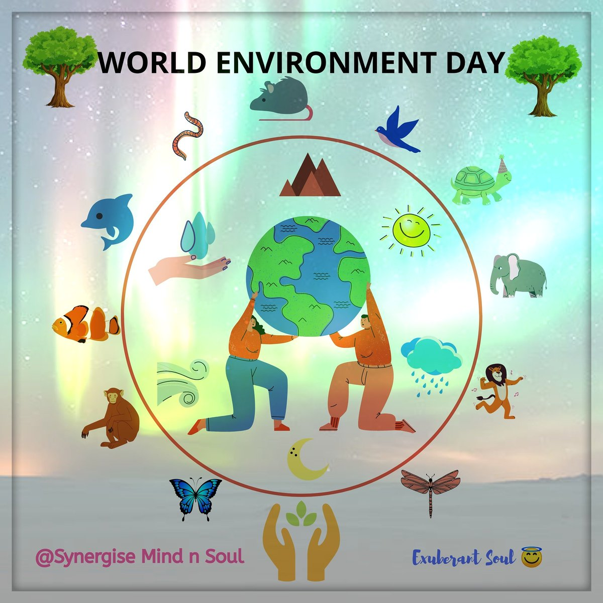 """Environment - वातावरण   This is our home... We are equally responsible for taking care of mother nature... """"Ye hai to hum hai""""  Gratitude 🙏 #EnvironmentDay #EnvironmentDay2020 #environment #biodiversity #loveforlife #PositiveVibes #PositiveEnergy #PositiveVibesOnly #naturelover https://t.co/ElIPF0Fubk"""