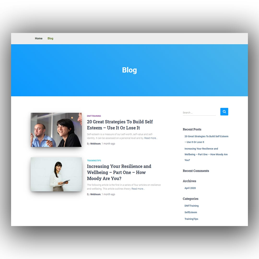 To add blog section is a good digital branding for business portfolio website. I also add it for my client website.   Hire me: check please BIO.  #blogginglife #blog #wiki #howto #businessowner #businesstransformation #training #businesstraning #businessconsultant https://t.co/BDikDTXlar