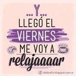 Image for the Tweet beginning: ¡ A relajarse y disfrurar!