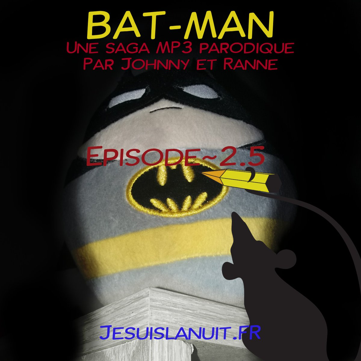 Un (ancien) nouvel épisode trépidant de [@BatmanEtRobine] Episode 2.5 - Les Bat-catacombes #batMan  https://t.co/l3x27ohVS3 via @PodcastAddict https://t.co/9QMJGnCOns