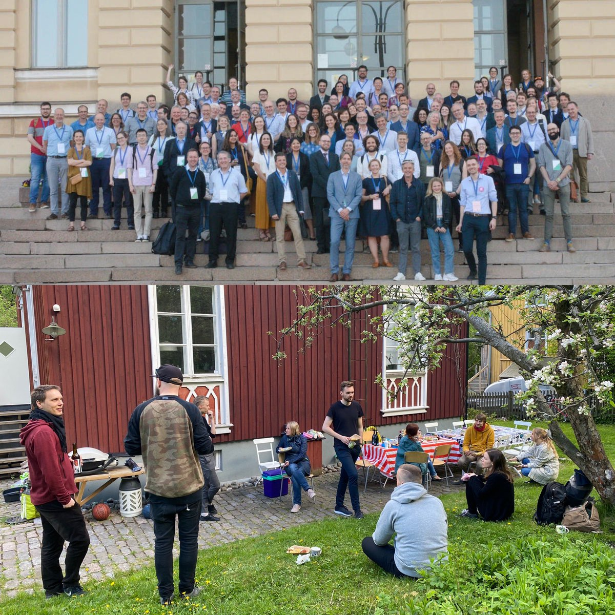 Exactly a year ago we were thrilled to meet colleagues at #NECTAR2019 conference at summery @helsinkiuni. This year, the circles are smaller and more local at @digigeolab. But after the long distant working period it feels super special to see colleagues face to face again. ❤️