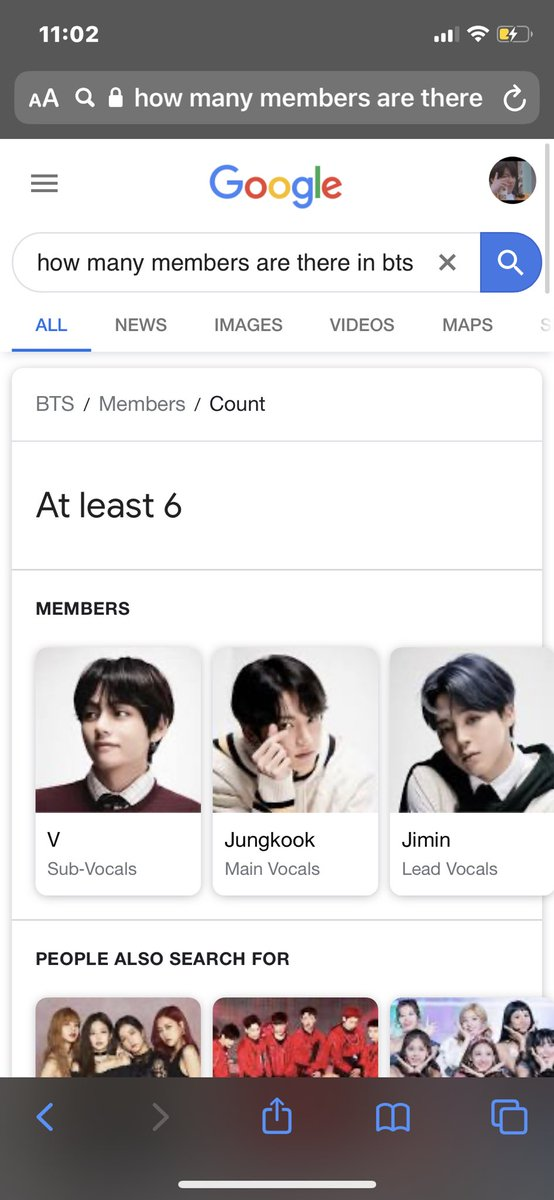 Y'all this ain't right exo and black pink fans paid #google to take Jin off as a member of the group #BTS #jin #addjinback #kimseokjin #army #ARMY #armybts #Armys #armystrong https://t.co/KFyhbJ4cJ5