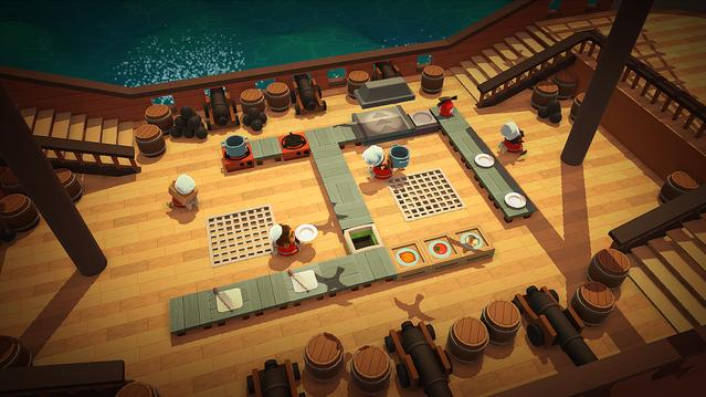 1000RT:【ハチャメチャ料理ゲー】Epic Gamesストア、『Overcooked』無料配布プレイヤーはヘンテコなキッチンで工程をこなし、制限時間内になるべく多くの料理を提供していく。