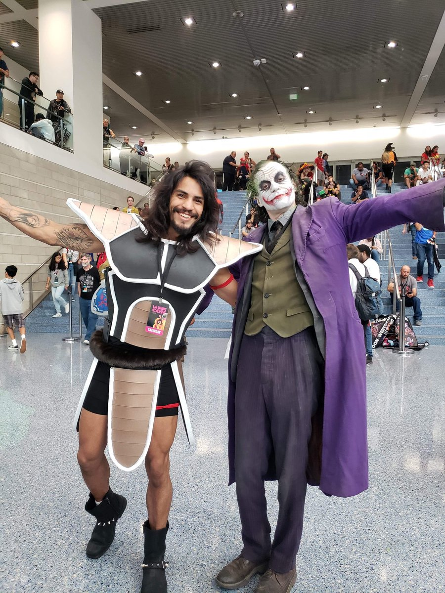 Whats up Twitter! I'm Dave, ill be sharing alot of cool stuff from gameplay, tech, and games! Join me on my journey  #joker #jokermovie #raditz #dbz #dragonballz #bulma #lacomiccon #gamer #saiyan #battlesuit #supersaiyan #batman #goku #vegeta https://t.co/sH44wZkL4U
