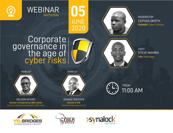We go live in 1.5 hours!  All talk but more advice on how you can ensure governance around your cyber risk management program  Come hear the corporate governance wall broken down as we go top-down an org structure's involvement in risk governance  Tune in  http://us02web.zoom.us/meeting/register/tZYvdumvrzgpHtH4nrIXDTd_TPwswyct1asX…pic.twitter.com/VIvcBgwnv7
