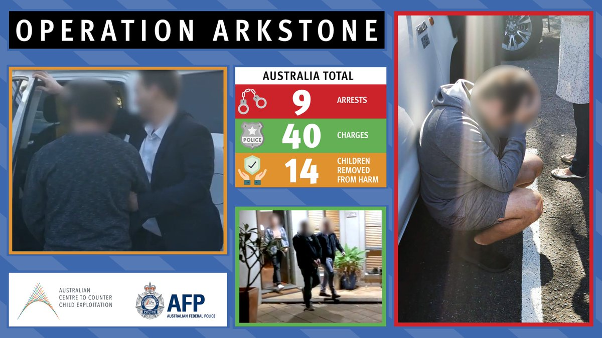 If you procure, access or transmit child abuse material, we will find, arrest and prosecute you. Our research shows that a lot of Australian's simply don't believe this could happen in Australia. It's happening, and it's real.  Full story https://t.co/Cfb4hHdtfN https://t.co/tdAV3cwr8h