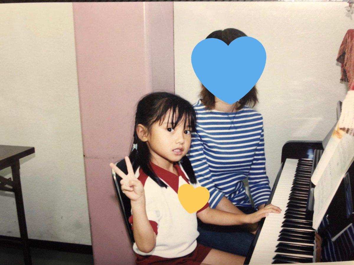 これは私がまだちゃんとピアノを弾こうとしていた時代の写真です