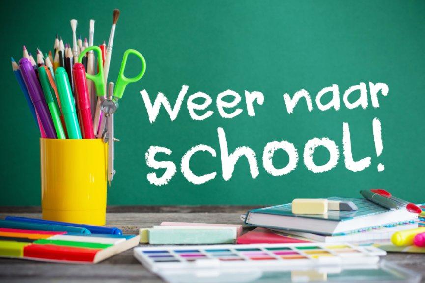 Image for the Tweet beginning: Maandag komen alle leerlingen weer