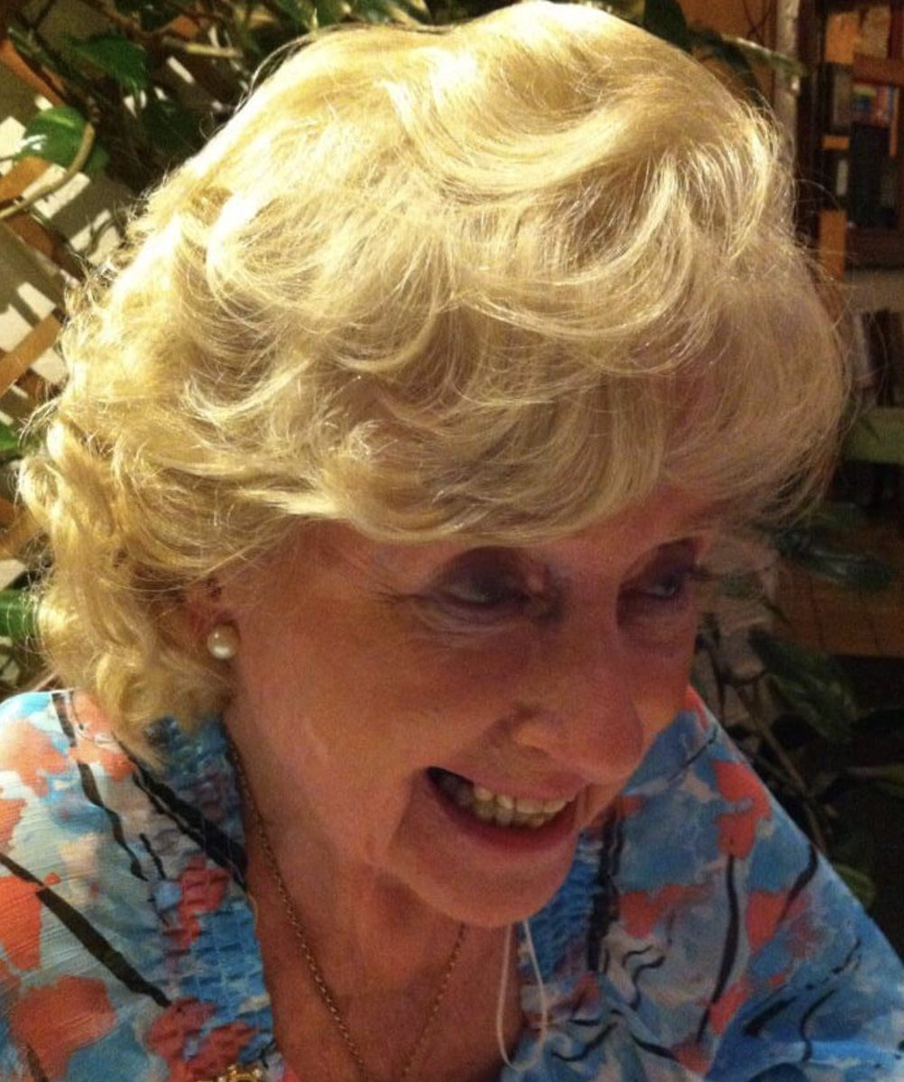 My darling Mum died overnight. We are heartbroken not least since she died alone. We haven't been able to see her since lockdown. I spoke to her yesterday and her dementia seemed to have receded. She was engaged, loving and warm. I can't imagine life without her.