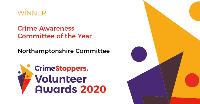 We have a winner of our Crime Awareness Committee of the Year Award and it's our #Northamptonshire Committee for their work promoting our @FearlessORG youth service: bit.ly/2yQJmhJ. We're always on the look-out for new volunteers: bit.ly/2kQaPpb #VolunteersWeek
