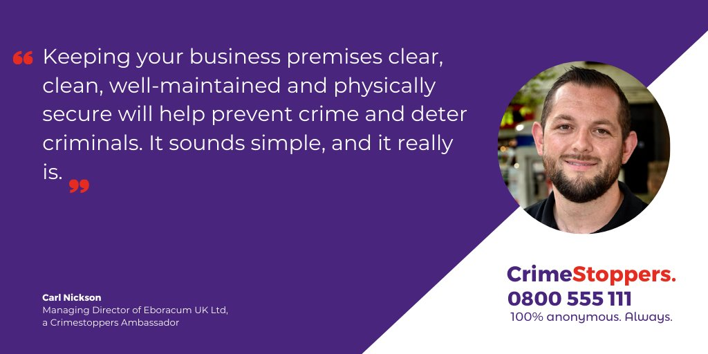 In these challenging times businesses need protection from criminals. @carlpnickson, MD of @EboracumYork, looks into this issue in our latest #blog: bit.ly/301EXnx. #ClosedtoCrime