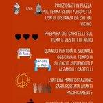 Image for the Tweet beginning: #6giugno #Palermo chiede giustizia per