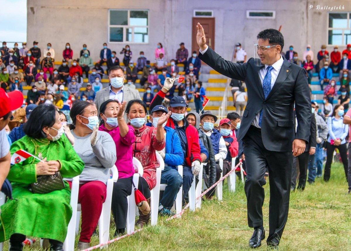 Монгол улсын Ерөнхий сайд У.Хүрэлсүх Увс аймагт. https://t.co/bkyKVhB9yJ
