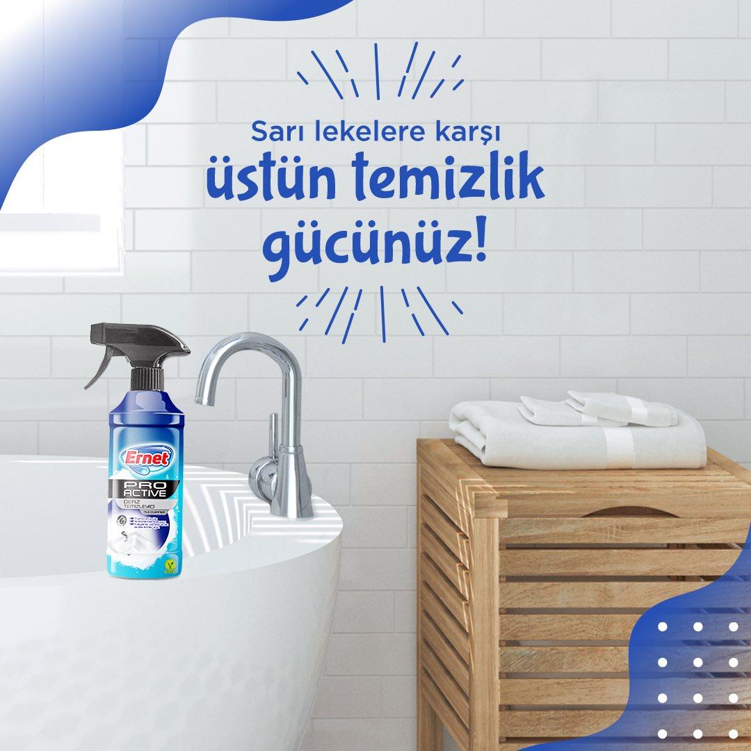 Küvet, lavabo, klozet gibi sarı leke ve kireç oluşan yüzeylerde de çözümünüz Ernet Derz Temizleyici! ⠀ ⠀  Ürünlerimize http://komsu.com.tr'den ulaşabilirsiniz. ⠀ ⠀ #Cleaningtips #GüçlüTemizlik #PratikTemizlikGücü #EvdekiYardımcınız #Hygienicpic.twitter.com/Qb7Bw0mN6N