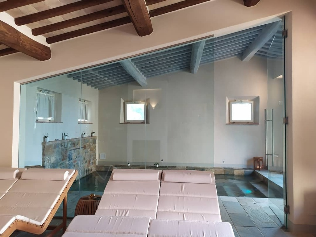 La #spa (speriamo presto fruibile) #capannalifestyle @capannasuites #montalcino #tuscany #toscana #wellness #beauty #sauna #bagnoturco #docciaemozionalepic.twitter.com/QZYTJGOvgk
