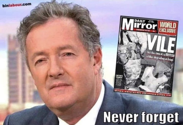 @KTHopkins @piersmorgan Don't normally agree with @KTHopkins but @piersmorgan shouldn't be on our tv screens or anywhere near any media outlets. https://t.co/nr8juaWlR5