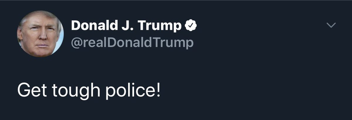 I guess this is what dumptrump meant? What a loser cop. pic.twitter.com/DmrjYwrwzq
